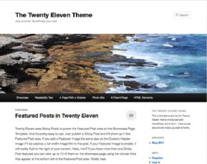Configurar su blog con WordPress