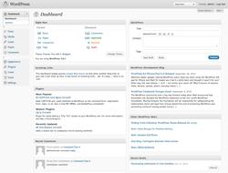 Operaciones básicas con WordPress