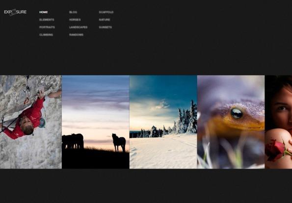 Temas para WordPress de fotografía