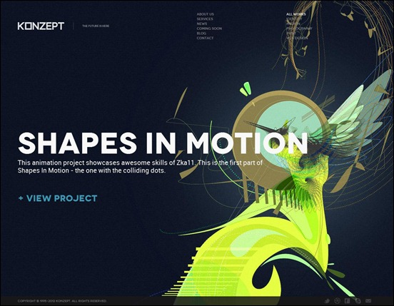 Konzept – Fullscreen Portfolio WordPress Theme