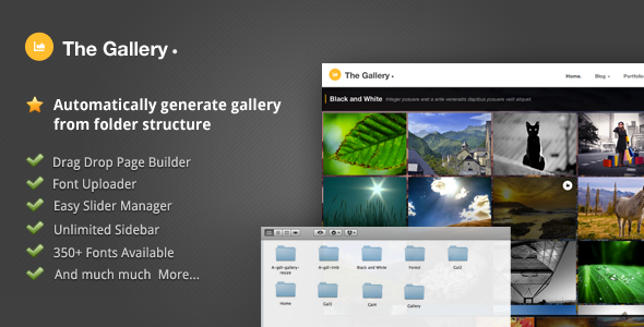 The Gallery – Automatically Generated Gallery