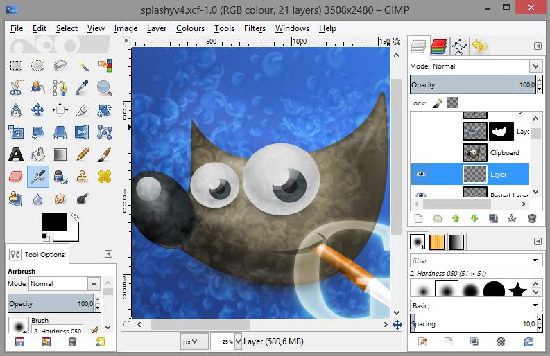 Gimp una herramienta libre de manipulaci n de im genes for 3d drawing program free online