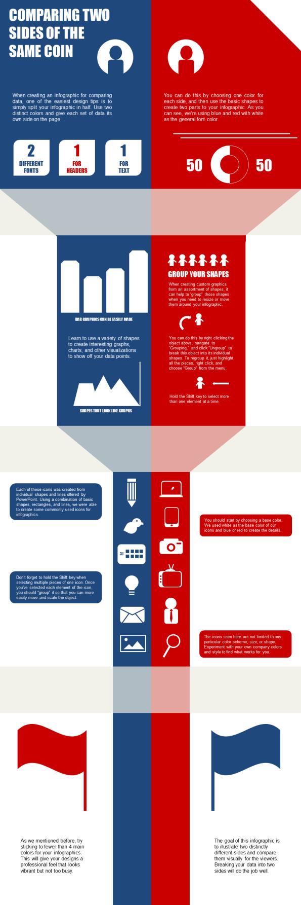 Cómo crear una infografía con PòwerPoint