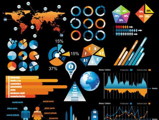 Kits gratuitos para diseño de infografias