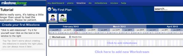 Milestoneplanner