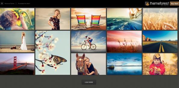 "Tema ""Expression"" Responsive de Fotografías para WordPress ..."