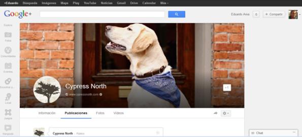 Nueva foto de portada en Google+