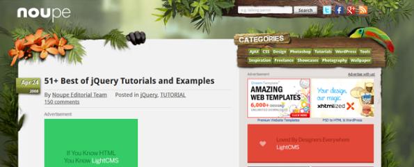 51 mejores tutoriales sobre jQuery