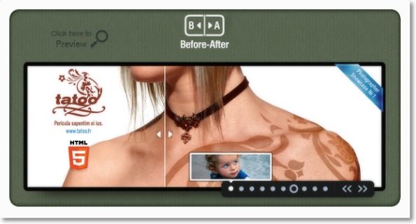 Before-After Slider&Banner #jQuery Plugin