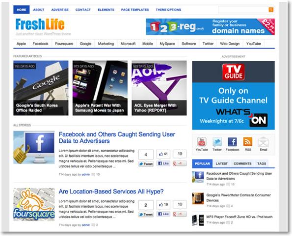15 Temas Impresionantes Responsive para WordPress (Theme Junkie ...