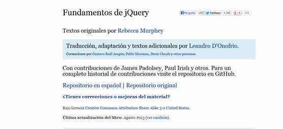 Fundamentos jQuery