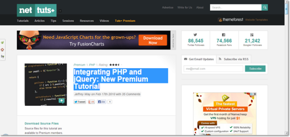 Integrating PHP and jQuery New Premium Tutorial