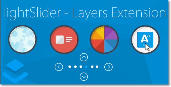 lightSlider - Layers Extension
