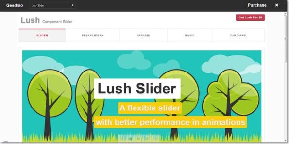 LushSlider