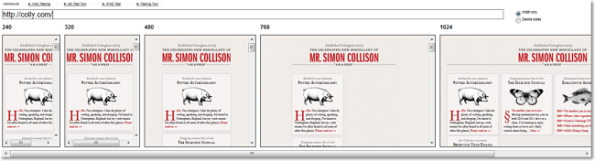 Mr. Simon Collins Responsive