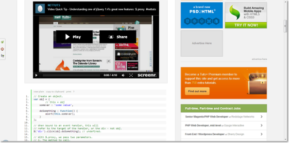 Quick Tip Learning jQuery 1.4′s $.proxy