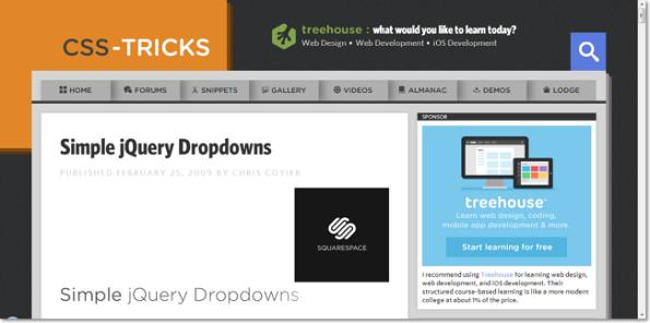 Simple jQuery 3-Tier Dropdown Menu