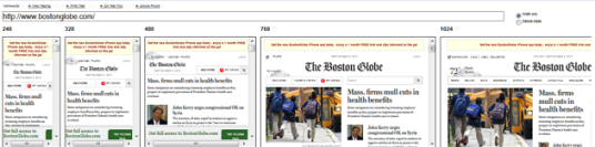 The Boston Globe Responsive