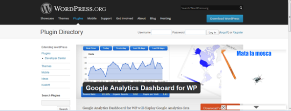 Google Analytics Dashboard para WP