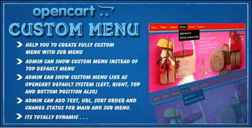 opencart-cliente-menu