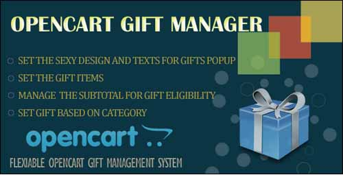 opencart-gift-gestion