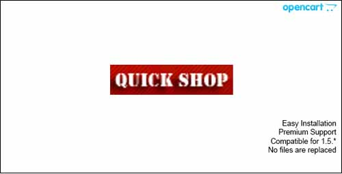 opencart-quickshop