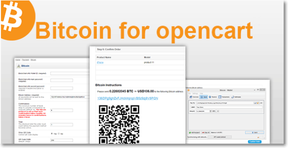#Bitcoin for #Opencart