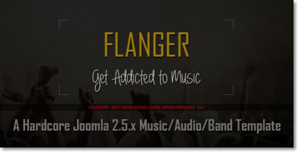 FLANGER Tema para Joomla