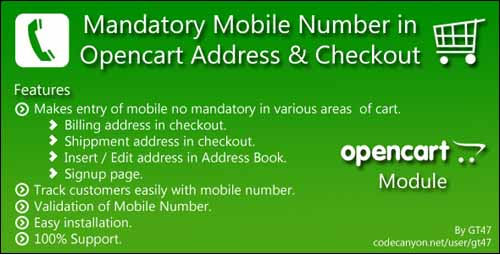 mandatory-mobile-no-in-opencart-address-checkout