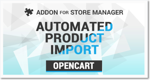 #OpenCart Automated Product Import