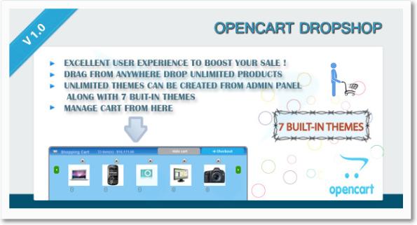 #OpenCart DropShop