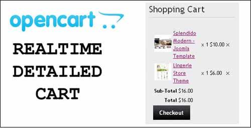 opencart-realtime-detailed-shopping-cart