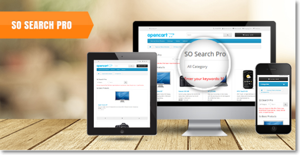 SO Search Pro - #Responsive #Opencart Module