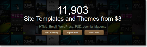 Temas en ThemeForest