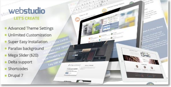 webstudio tema Drupal