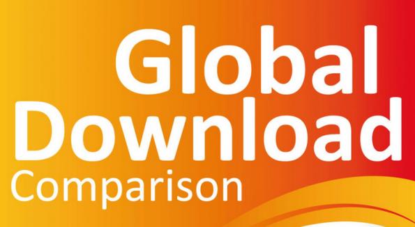 Global Download Comparison