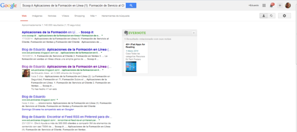 Google y Scoopit