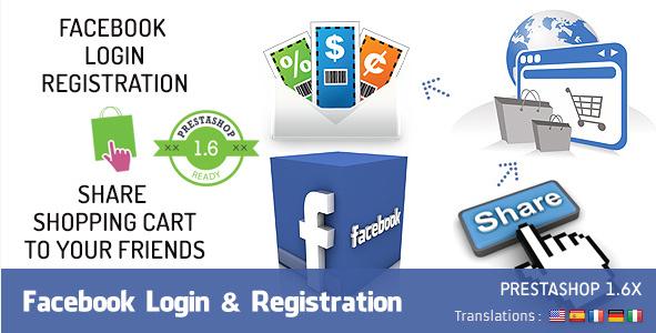 Facebook Login Registration
