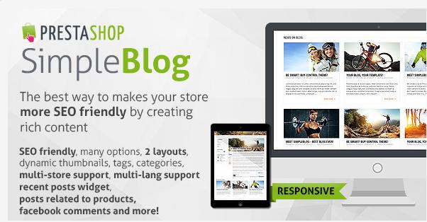 Prestashop SimpleBlog