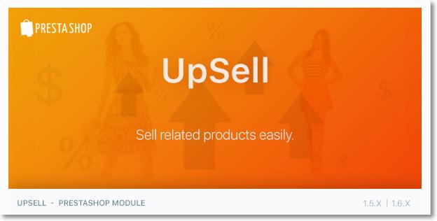 UpSell - #PrestaShop Module