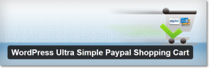 Wordpress Ultra Simple Paypal Shopping