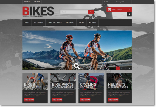 Bikes para Prestashop