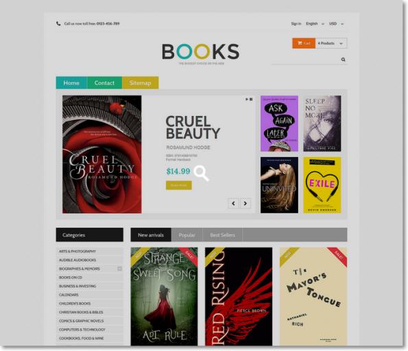 Books para Prestashop