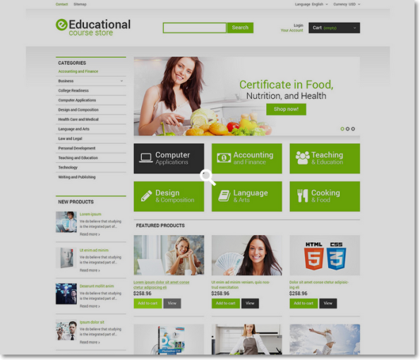 Educational para Prestashop