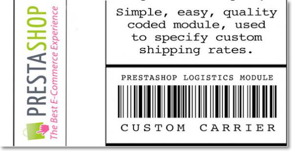 Prestashop logistics