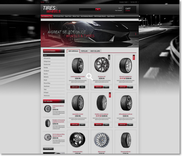 Tires Wheels