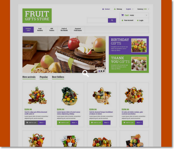 fruit gifts store