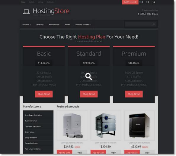 HostingStore