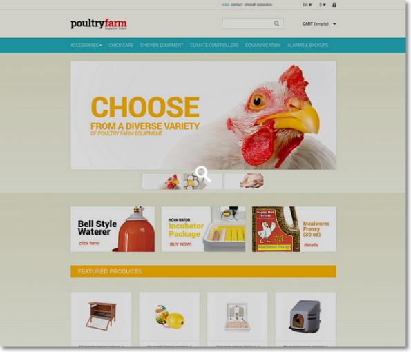 Poultryfarm tema para prestashop