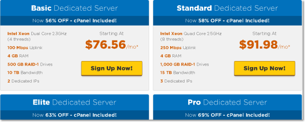 Dedicated Server Hostgator